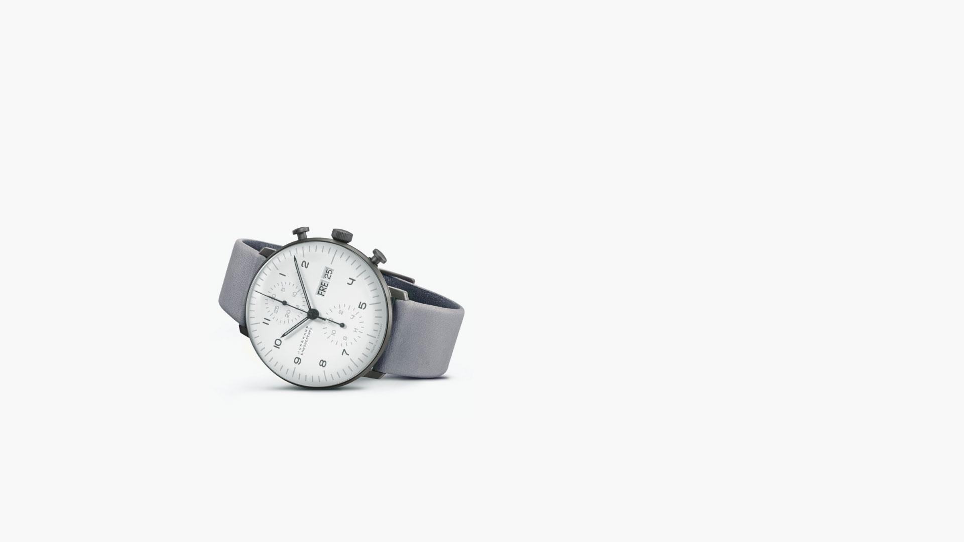 Uhr Junghans Max Bill Chronoscope 100